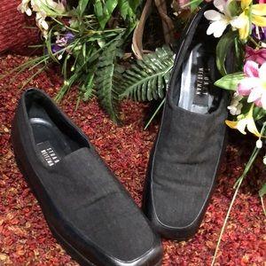 Stuart Weitzman loafer black 8 1/2